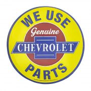 We Use Chevrolet Parts (ปั๊มนูน)