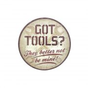 Got Tools? They Better not be mine! (ปั๊มนูน)