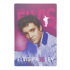 ป้ายสังกะสี Elvis Pr35ley Thirty fifth anniversary