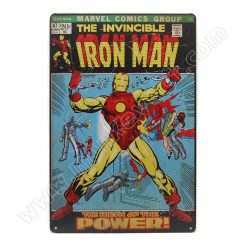 ป้ายสังกะสี The Invicible Iron Man, The Birth of the Power