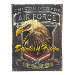 ป้ายสังกะสี Defenders of Freedom, United States Air Force