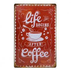 Life begin after Coffee (ปั๊มนูน)